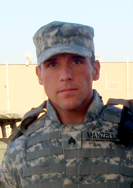 Army Sergeant Darren Manzella, discharged for being openly gay in 2008