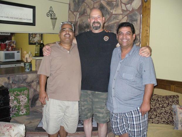 David, John and James