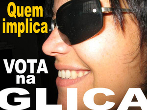 The Brazilian Candidate, Glica, part of the Whore Festival Democratic Party