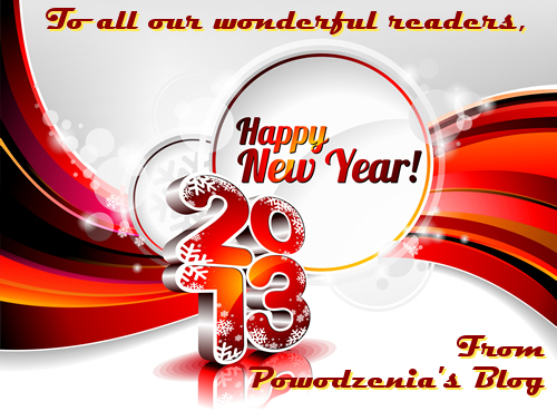 Happy New Year from Powodzenia's Blog!
